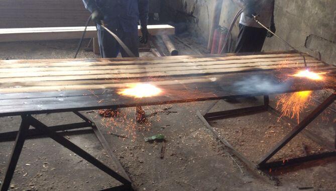碳化木工艺过程 - 产品库