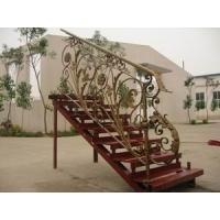 铁艺楼梯,欧式铁艺楼梯