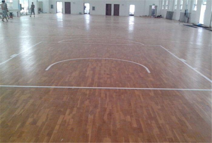篮球场专用运动地板 篮球场地木地板