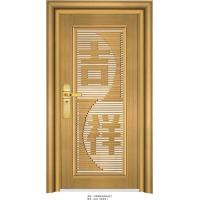 木纹玫瑰金色不锈钢门款式高雅,不锈钢门厂