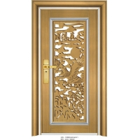 佛山专业铸造不锈钢门,新款不绣钢门,颜色高贵典雅不锈钢门