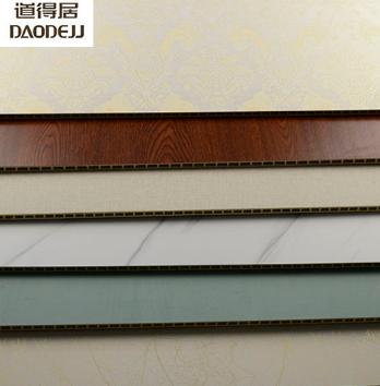 道得居竹木纤维集成墙板快装墙面墙装饰板生态木吊顶护墙板