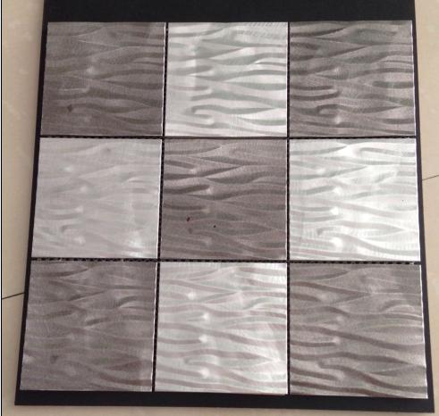 aluminium skin mosaic tiles