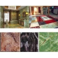 万马奔腾艺术玻璃图片、3D背景墙、水晶地砖、冰晶画