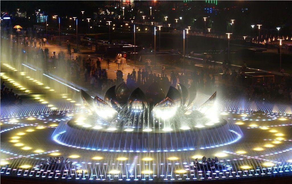 河南专业音乐喷泉设计,石雕喷泉,水景喷泉,冷雾喷泉