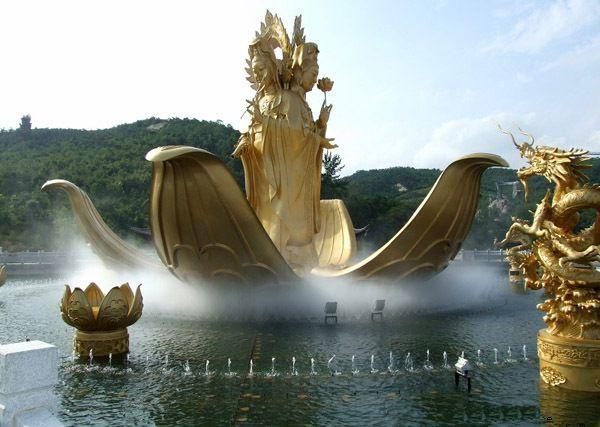 河南专业音乐喷泉设计,石雕喷泉,水景喷泉,冷雾喷泉图片