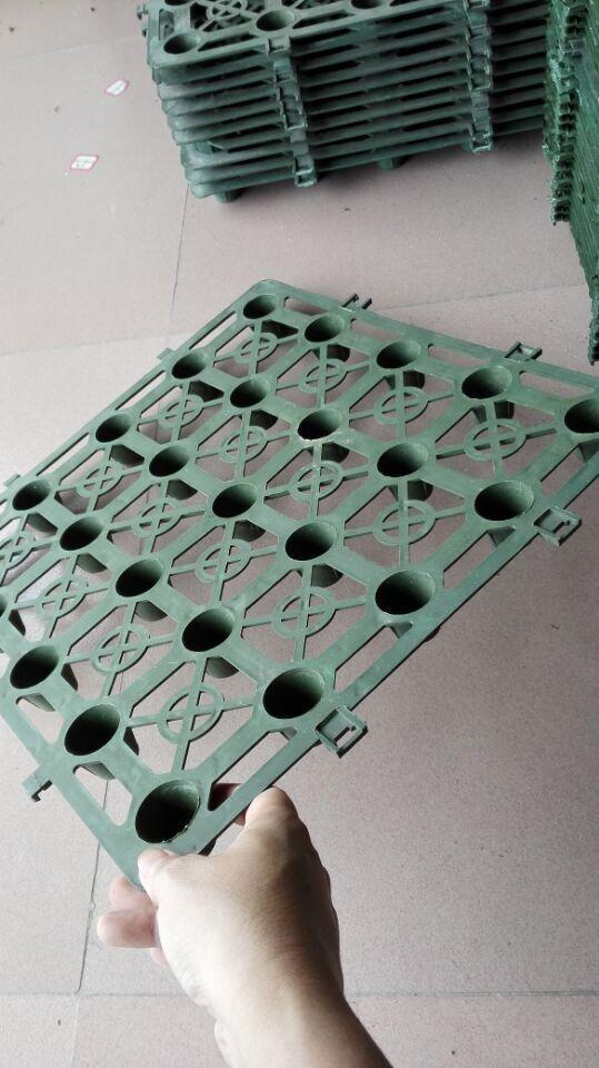 直销优质塑料排水板 屋顶园林 消防车道专用排水板 免费拿样