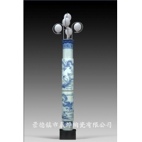 供应景德镇CD-001陶瓷灯柱