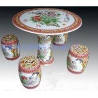 粉彩陶瓷桌