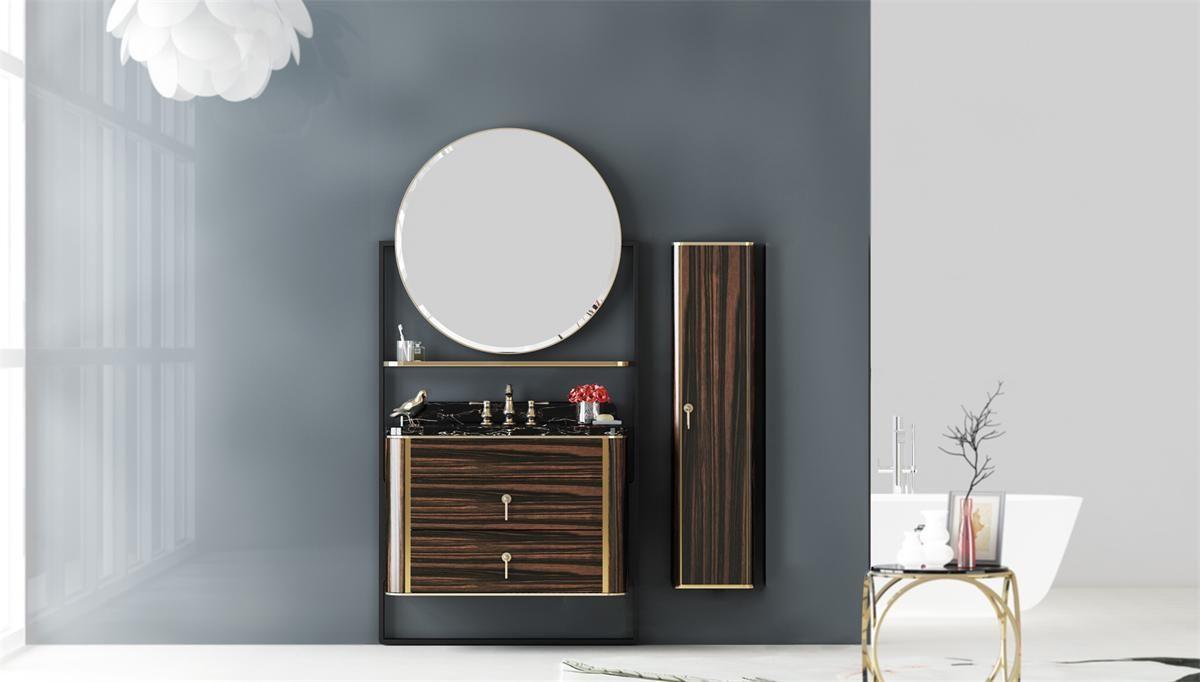 2017新中式 邦妮拓美不锈钢浴室柜 BN-8810