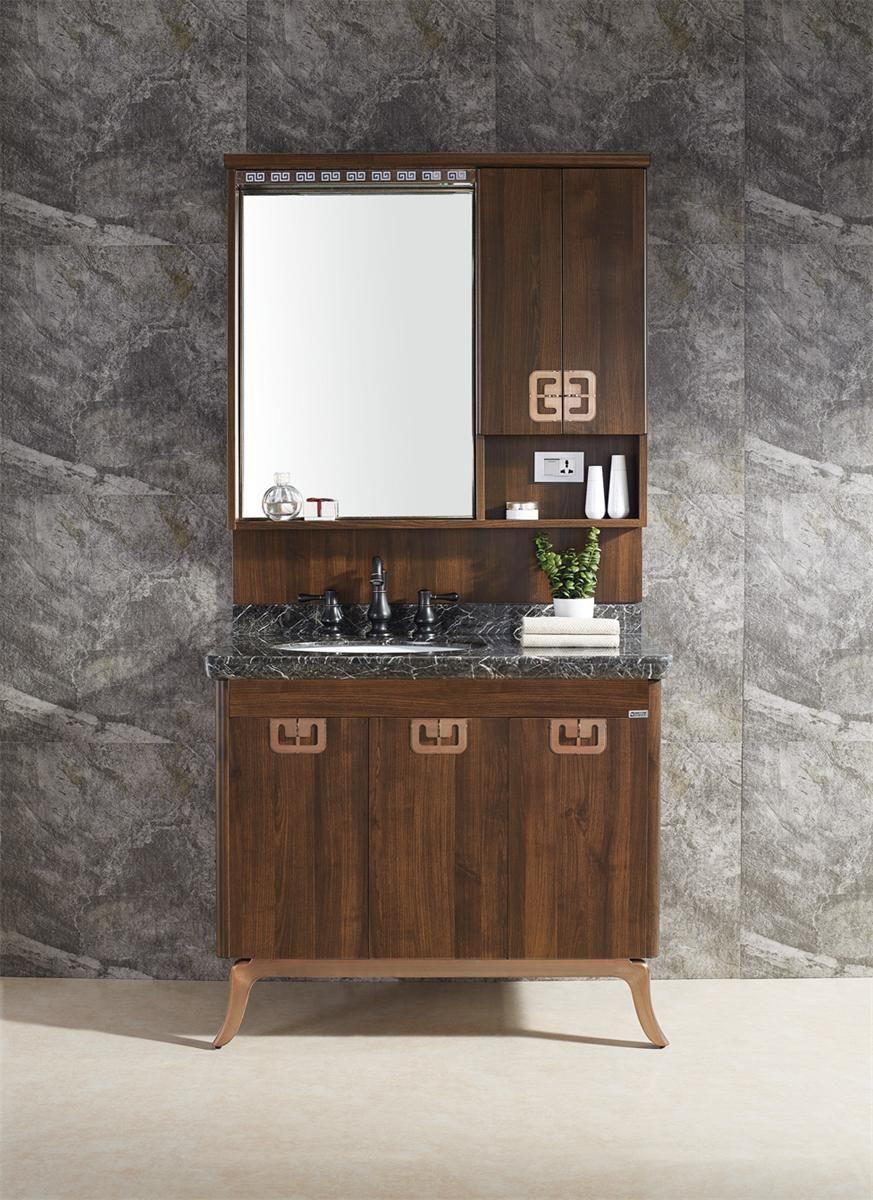 2017新中式 邦妮拓美不锈钢浴室柜 BN-8616