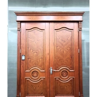 尊源世家复合门-红橡木皮