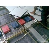 海口防静电地板,进口PVC面,加强筋