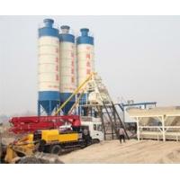 河北双星机械制造的HZS50小型混凝土搅拌站