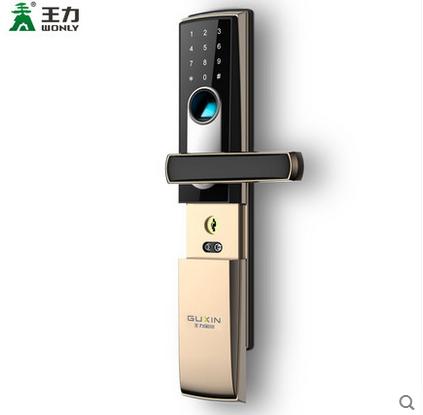 指纹锁防盗门家用智能甲级安全门电子密码锁进户门