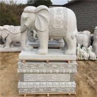 石雕大象,花岗岩石象
