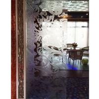南京展厅玻璃-信源玉砂酸洗玻璃