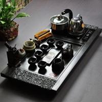 厦门市黑金石系列茶盘招商,石博士是首选 莆田黑金石系列茶盘