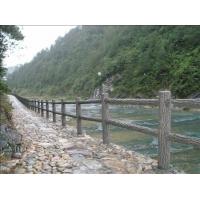 河道护栏  仿木栏杆  仿大理石