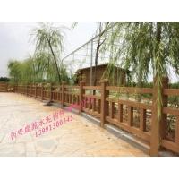 陕西省西安鹿苑水泥围栏_环保艺术围栏制造厂