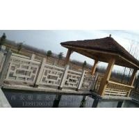 西北地区仿窗花河提护栏、仿木河道护栏、水泥围景墙、