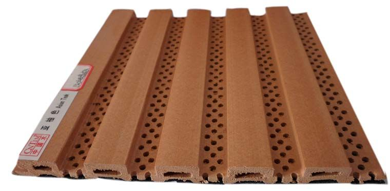 生态木150吸音板 吸音板工程装修隔音效果