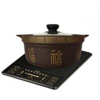 耐德康1L电磁炉专用紫砂锅炖锅汤锅