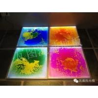个性涂鸦液态流动水墨地板 夜场、KTV、舞池装饰地板