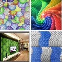 防火防刮花立体三维3D装饰板 新型绿色环保背景装饰材料