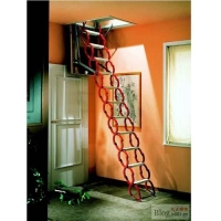 广东阁楼伸缩楼梯厂家 阁楼伸缩楼梯价格 伸缩楼梯价格