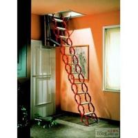 wj-3型阁楼楼梯价格 家用伸缩楼梯价格 诚信阁楼楼梯厂家