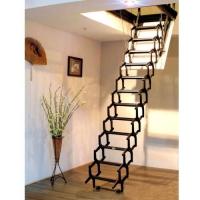 阁楼楼梯唯佳厂信誉 阁楼楼梯真实价格 客厅伸缩楼梯价格
