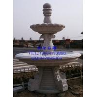 厂家直销石雕喷泉|黄锈石石雕喷泉|黄金麻石雕喷泉|石雕莲花喷