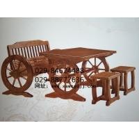 古典榆木桌椅