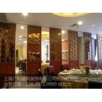 杭州玻璃隔断,展厅隔断,木雕隔断,活动玻璃隔断