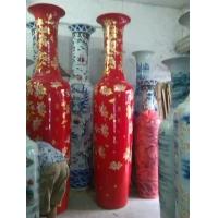 青花瓷大花瓶 景德镇陶瓷花瓶 庆典礼品大花瓶