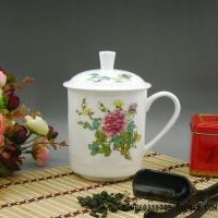 上海定做杯子 上海骨瓷茶杯 景德镇陶瓷茶杯 上海会议茶杯