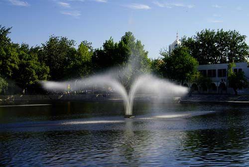 动感 摇摆喷泉 常工 中国建材第一