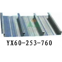 YX60-253-760闭口楼承板 760压型钢板
