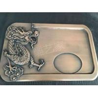金属浮雕工艺品茶盘