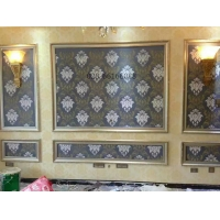 环保材料硅藻泥,电视墙面,形象墙,墙面涂装