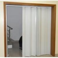 宁波PVC透明折叠门、透明玻璃门、塑料阳台厕所遮光移动门
