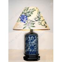 手绘丝绸墙纸-手绘灯罩