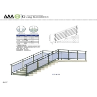 广州锌钢楼梯护栏、锌钢阳台护栏、锌钢楼梯扶手