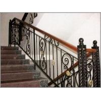 海南锌钢楼梯护、阳台栏杆、阳台护栏、锌钢楼梯扶手