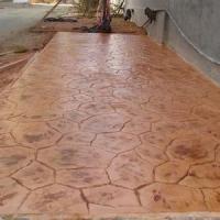 供应安宁市Y51彩色压花地坪材料|压花地坪批发|生态透水混凝