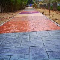 供应个旧市Y58彩色透水地坪材料|压花地坪|混凝土压模地坪