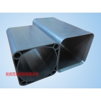 四孔方型塑合金管,塑合金四孔管