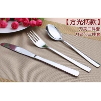 揭阳不锈钢刀叉勺西餐具24件套 礼品套装 PVC彩盒装