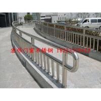 不锈钢栏杆 玻璃护栏铁艺围栏 公园广场护栏
